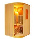Kombinace infra a parní sauny H60114 Calipso 125x110x190