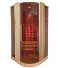 Infračervená sauna ELITE ONE / červený cedr 100x100x200cm pro 1 osobu