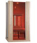 Infračervená sauna ELITE TWO / červený cedr 110x100x200cm pro 1-2 osoby